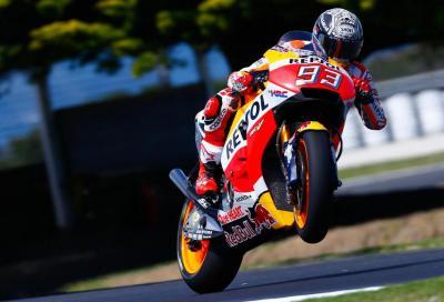 Marquez velocissimo nel Day 1 dei test a Phillip Island
