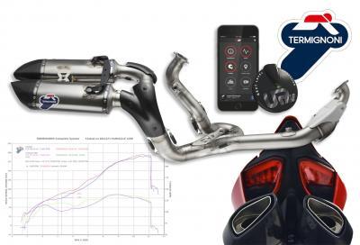 Scarico racing (e app) by Termignoni per Ducati 1199 e 1299 Panigale