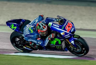 Viñales primeggia in Qatar: è il Re dei test MotoGP 2017