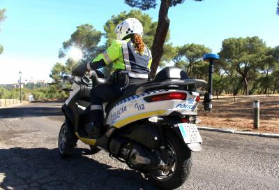 160 Piaggio MP3 alla Polizia Municipale di Madrid