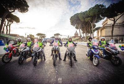 Prova la gamma Honda 2017 alla Maratona di Roma