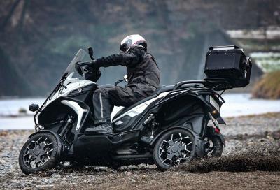 Quadro4 Steinbock: 4 ruote offroad in serie limitata