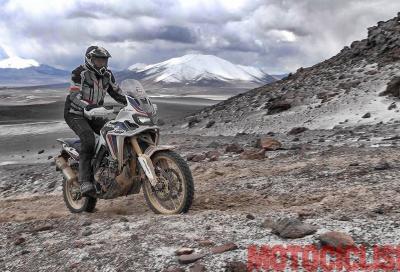 Motociclismo a 6.000 m con l'Africa Twin: i video