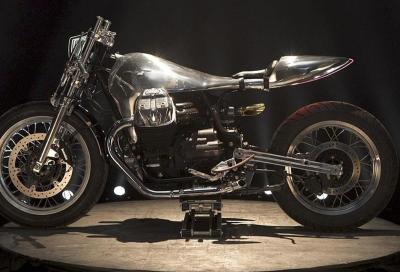 La special Moto Guzzi V7 III vincitrice di Lord of the Bikes 2017