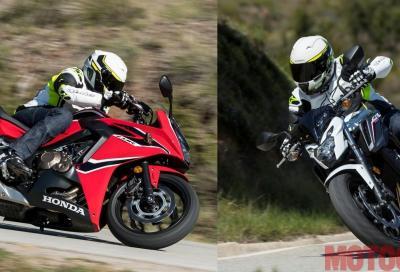Honda CB650F e CBR650F 2017: come sono e come vanno