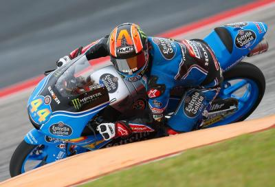 Moto3, Canet superlativo: pole e record al COTA