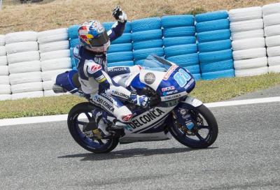 """Moto3, Jerez: """"superpole"""" di Martin, Fenati in prima fila"""