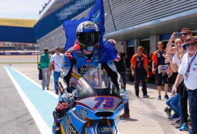 Disastro Morbidelli, a Jerez vince Marquez. Strepitoso Bagnaia!