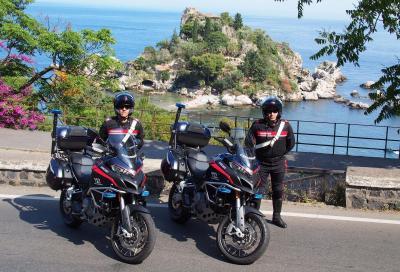 Ducati, due Multistrada 1200 all'Arma dei Carabinieri