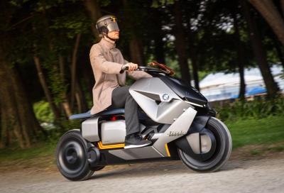 Concept Link: video del prototipo di scooter elettrico BMW in azione