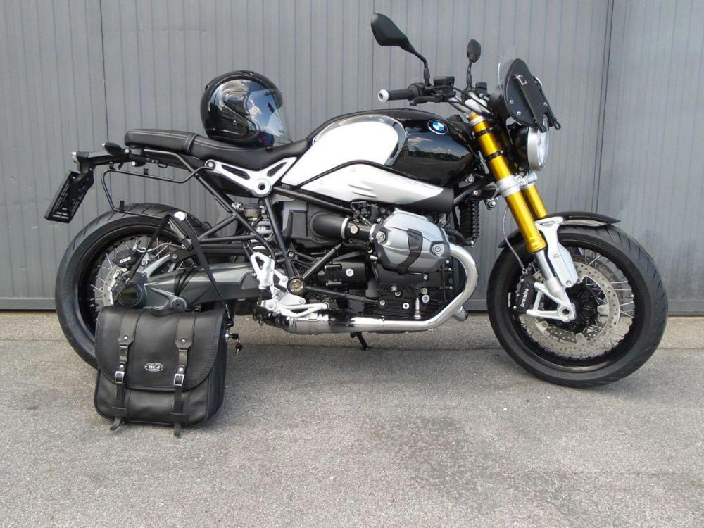c060354bdc Accessori MCJ per BMW R nineT: borsa in pelle e cupolino - Motociclismo