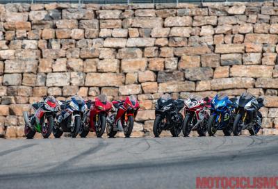 Comparativa maxisportive 2017: il video della sfida al Motorland Aragon