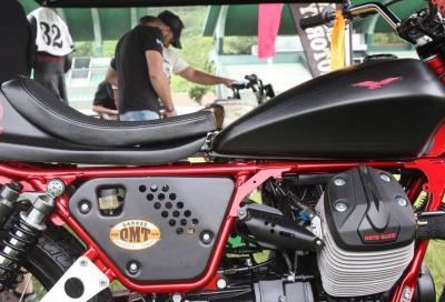 Moto Guzzi a Wheels&Waves 2017: special belle e... veloci