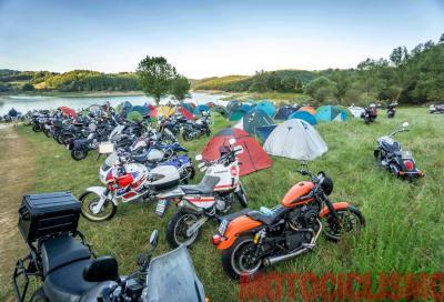"""""""Amatrice c'è!"""": un weekend di moto e commozione"""
