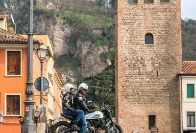 Veneto in moto: cineturismo in Scrambler