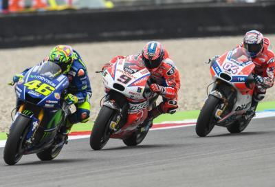 Show Italiano ad Assen: Rossi 1°, Dovi leader del Mondiale