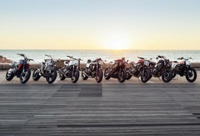 In video 8 Yamaha XSR700 e 900 special Yard Built