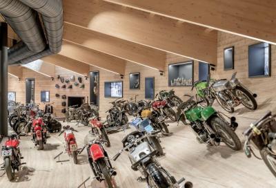 """Storia della moto al """"Rombo"""", nel museo più alto d'Europa"""