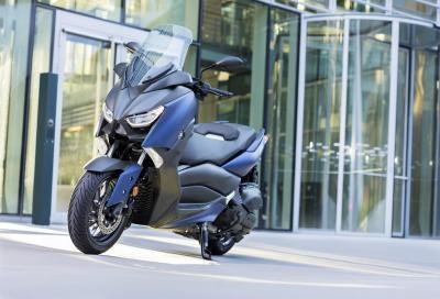 Yamaha presenta il... quasi maxi scooter X-Max 400 2018