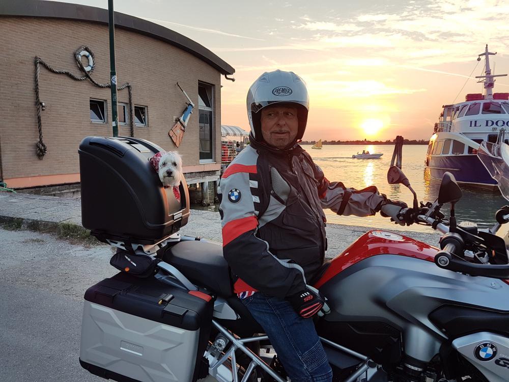 en gros concepteur neuf et d'occasion large choix de couleurs et de dessins Portare il cane in moto: come si fa? Esistono bauletti ...