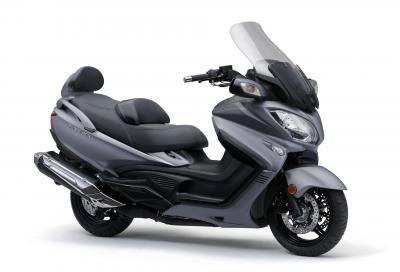 Il maxi scooter Suzuki Burgman 650 è ora Euro 4