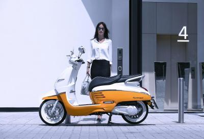 Nella gamma scooter Peugeot arriva il nuovo Django 125i Euro 4