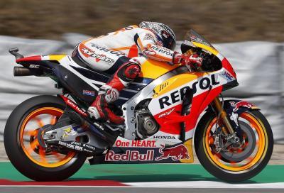 Marquez in pole a Brno, Rossi super