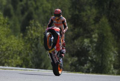 Marquez geniale a Brno!