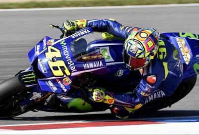 Test MotoGP, Brno: Rossi al top