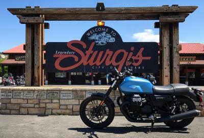 Moto Guzzi al 77° Sturgis Motorcycle Rally