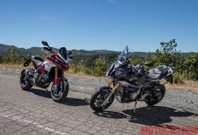 Sfida Super Crossover: S 1000 XR vs Multistrada Pikes Peak, video presentazione
