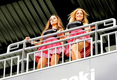 Le ragazze più belle della SBK 2017 al Lausitzring