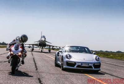 Scontro al vertice: Ducati vs Porsche vs Eurofighter