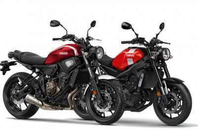 Le Yamaha XSR700 e XSR900 si vestono retrò
