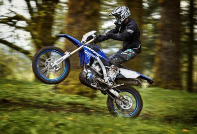 Yamaha svela le nuove enduro WR250F e WR450F
