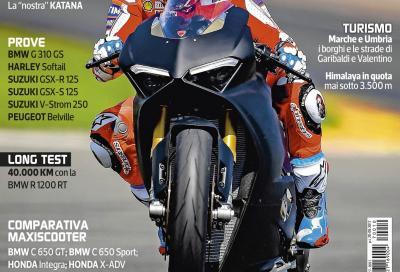 La Panigale V4 protagonista su Motociclismo di ottobre