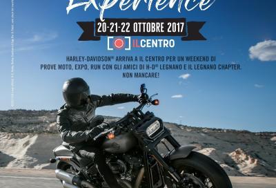 """Harley-Davidson a """"Il Centro"""" per un week end all'insegna dei motori"""