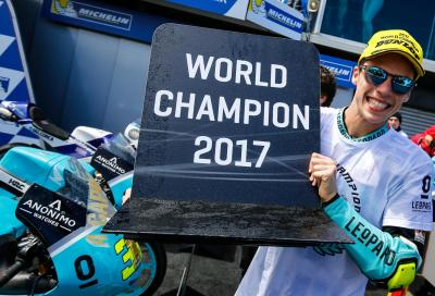 La pioggia ferma la Moto3 in Australia: Mir vince gara e Mondiale