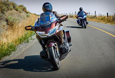 Honda GL1800 Gold Wing: nuova ciclistica e motore con DCT