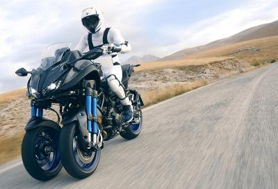 Yamaha Niken: la rivoluzione si muove su tre ruote