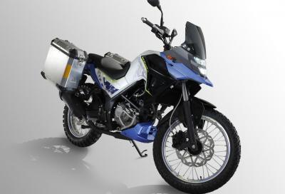 Sym NH-Trazer 200: mini crossover taiwanese