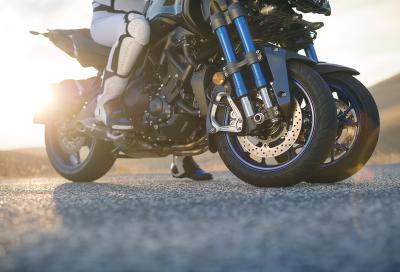 Yamaha Niken 2018: i dettagli della moto a tre ruote