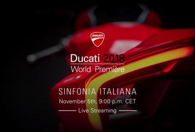 Live Streaming Ducati World Première 2018