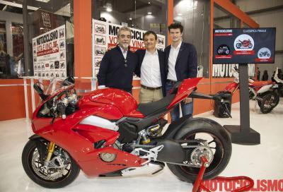 """Ducati Panigale V4 S: è lei la """"Moto più bella del Salone"""""""