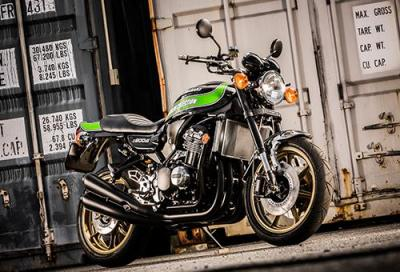 Dal Giappone tre Kawasaki Z900RS special