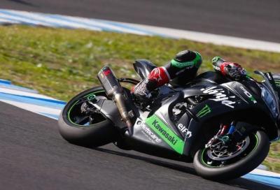 Le regole non fermano Rea. Kawasaki al top nei test di Jerez