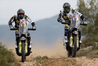 Il Team ufficiale Husqvarna alla Dakar 2018