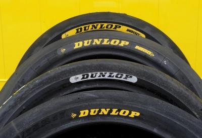 Dunlop fornitore unico di pneumatici in Moto2 e Moto3 fino al 2020
