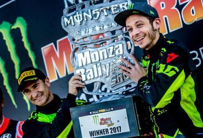 Rossi da record a Monza: suo il Rally Show 2017