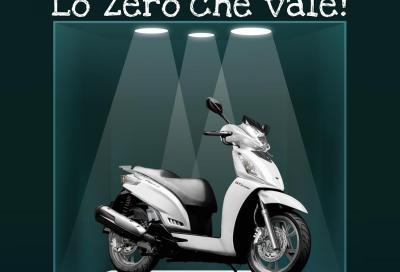 """""""Lo zero che vale"""", la promozione Kymco a tasso 0"""